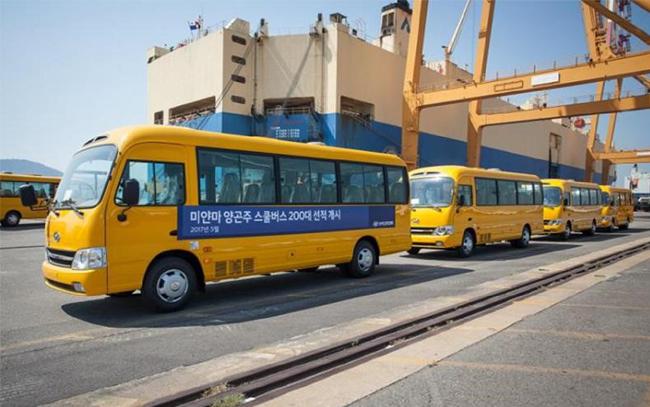 Новость 200 автобусов County