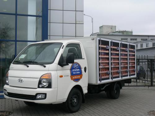 Хлебный фургон H100 hyundai