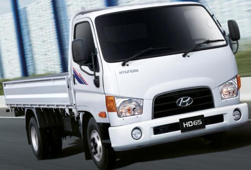 Бортовая платформа на базе   Hyundai HD 65