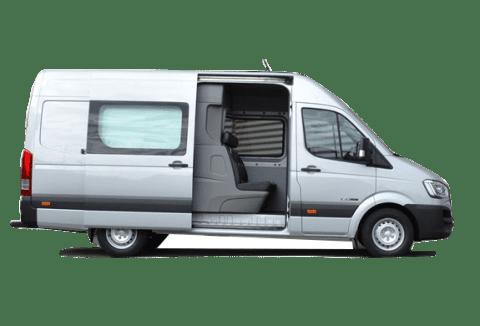 H350 вантажно-пасажирський фургон
