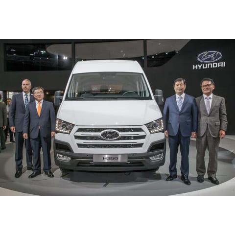 Новость новая модель H350 Hyundai