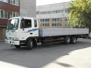 Бортовая платформа  на базе  Hyundai HD 210
