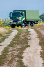 Борт - тент для транспортировки личного состава на базе Hyundai HD 120