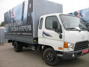 Борт-тент на базе Hyundai HD 65