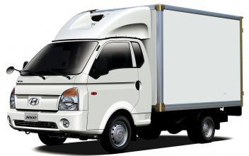 Промтоварный фургон на базе  H 100