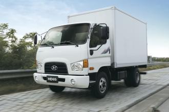 Промтоварный фургон hyundai