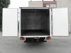 Изотермический фургон hyundai