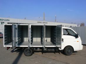 Хлебный фургон hyundai