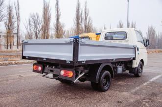 Бортовая платформа на базе Hyundai  Н100