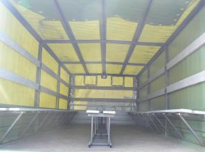 Борт - тент для перевозки личного состава на базе  Hyundai HD 65